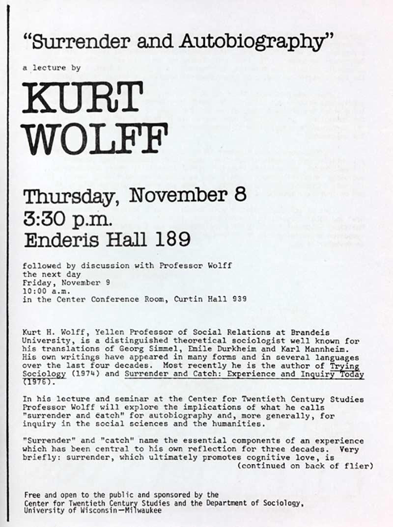 Kurt Wolff
