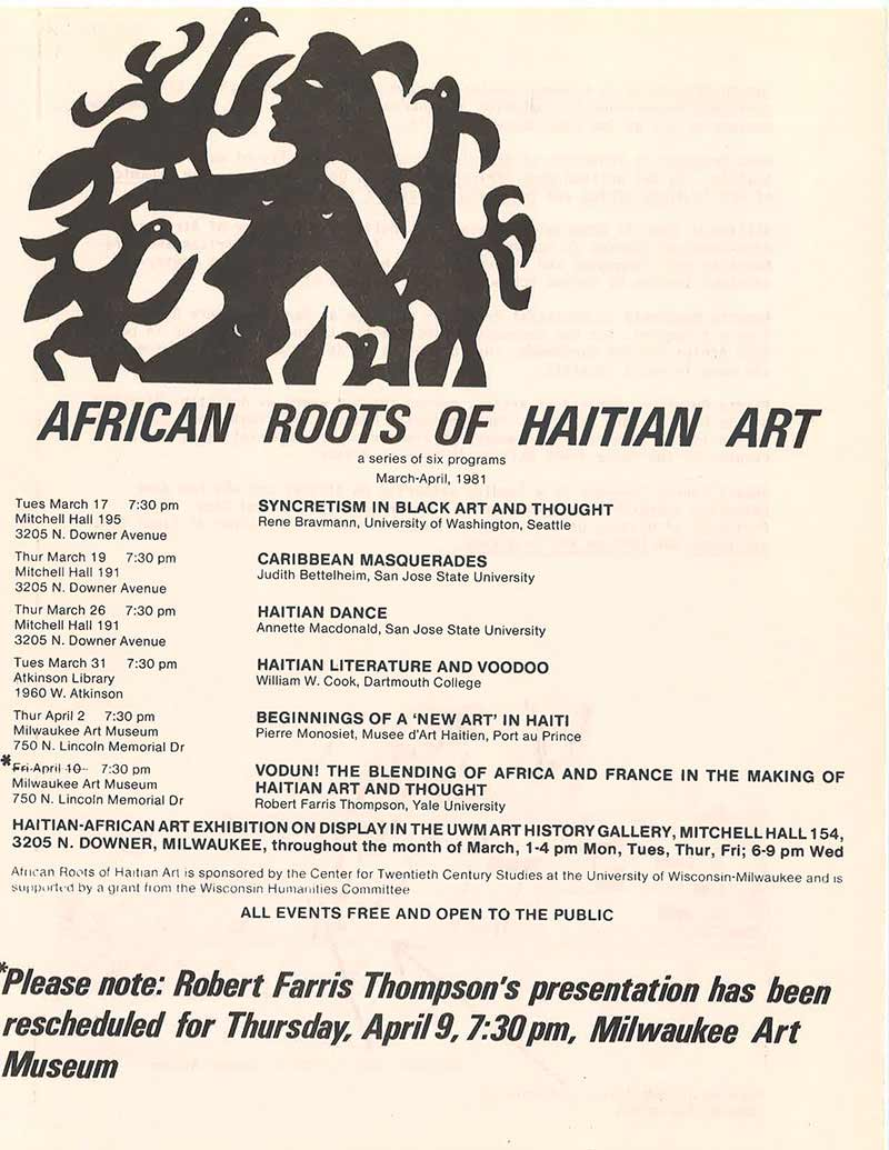 African Roots of Haitian Art Series