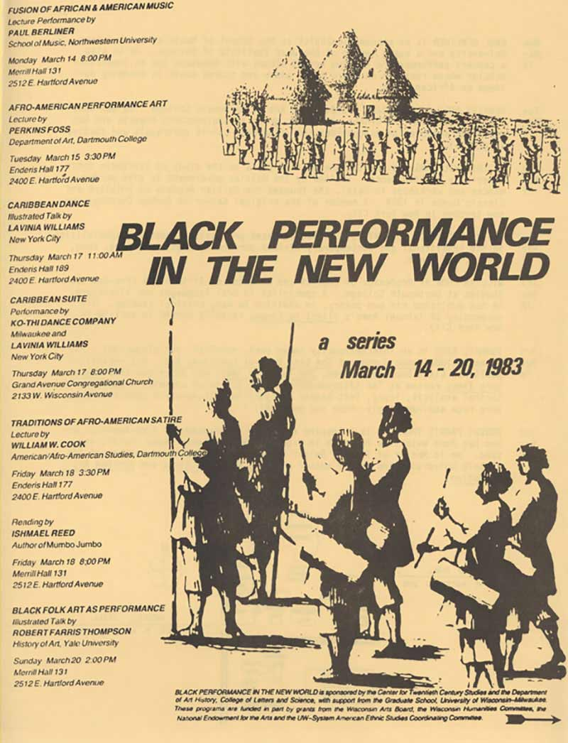 Black Performance in the New World