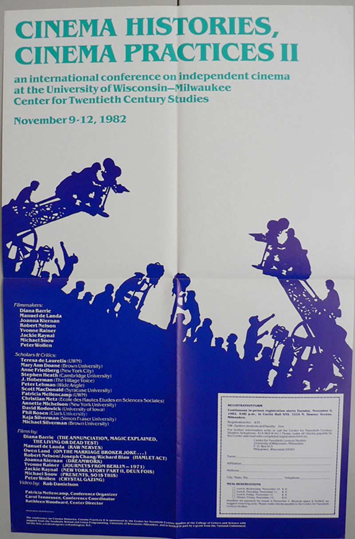 Conference: Cinema Histories, Cinema Practices II