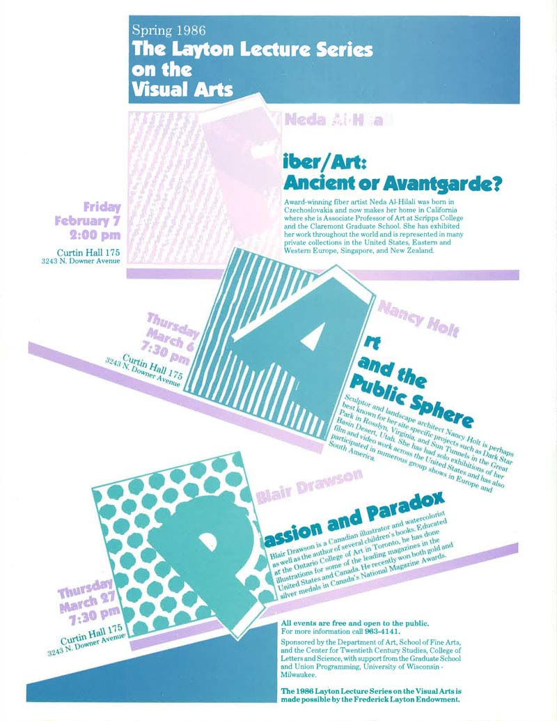 Layton Lecture Series on the Visual Arts