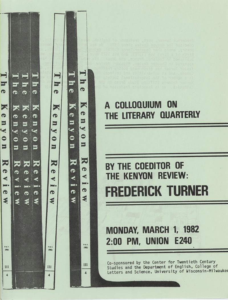 Frederick Turner