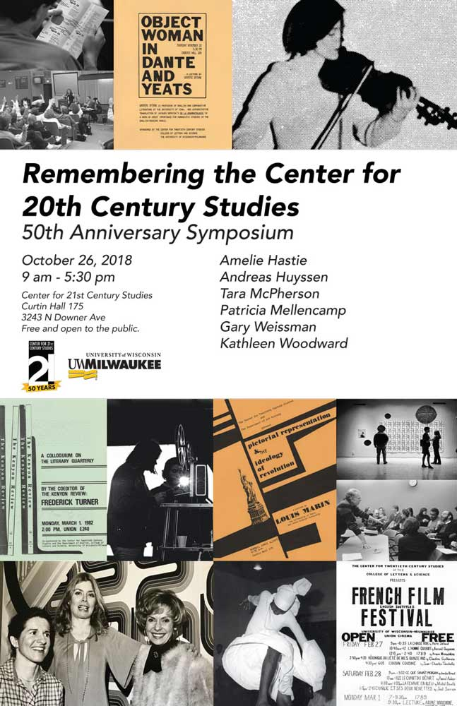 Anniversary Symposium: Remembering the Center for 20th Century Studies