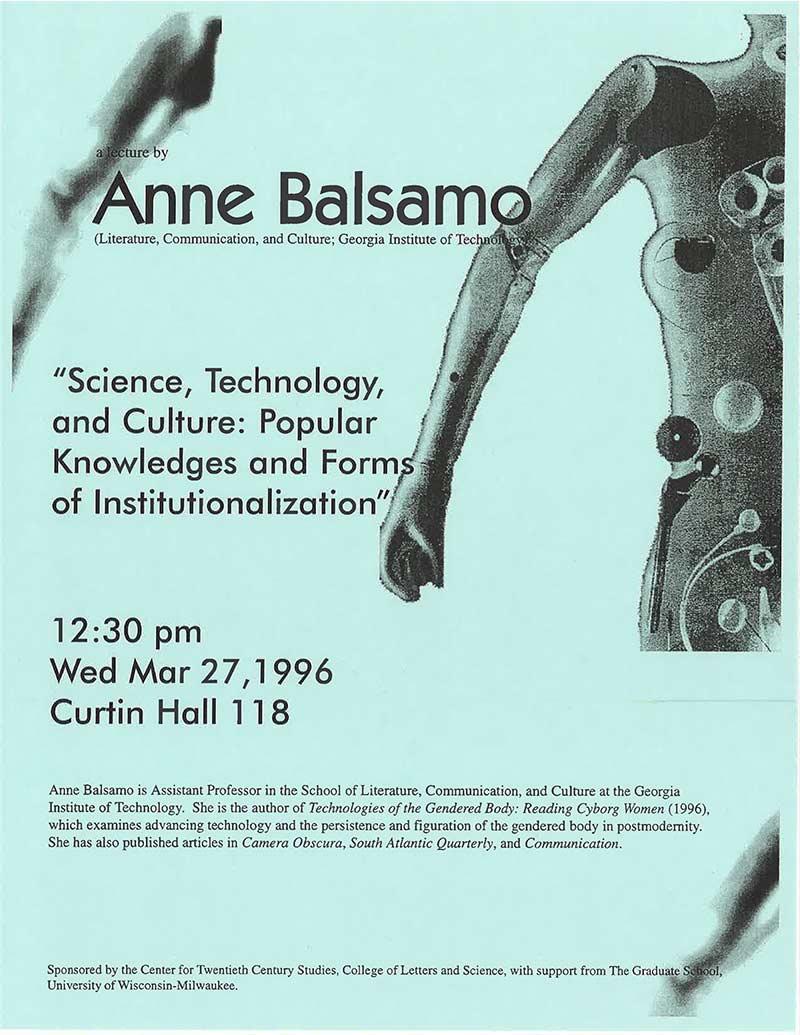 Anne Balsamo