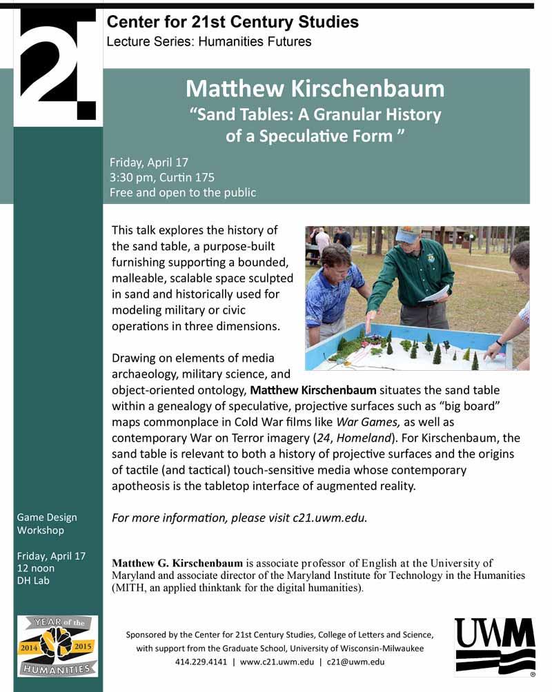 Matthew Kirschenbaum