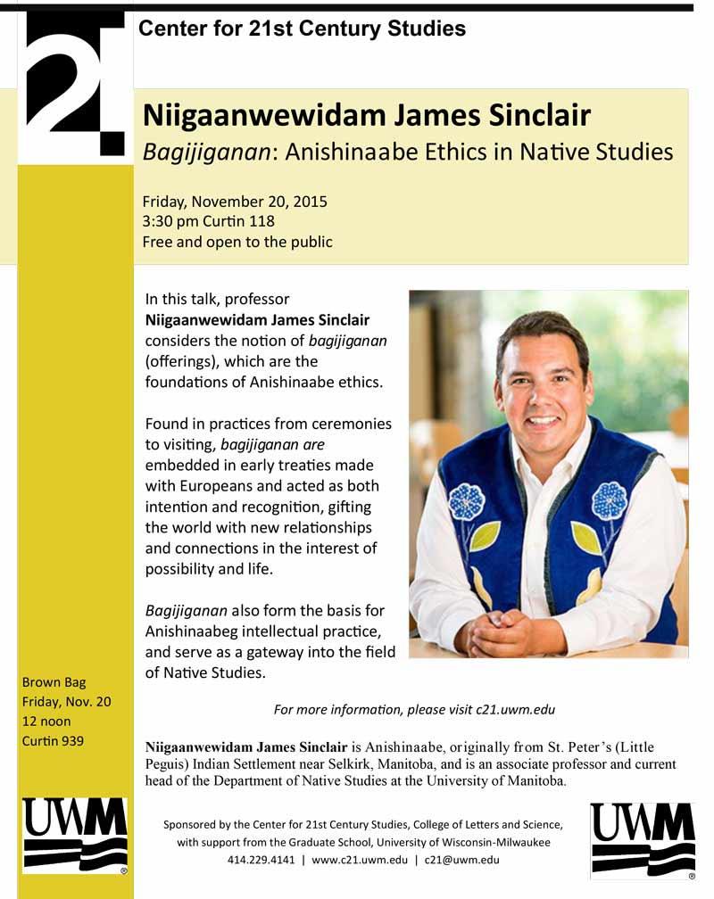 Niigaanwewidam James Sinclair
