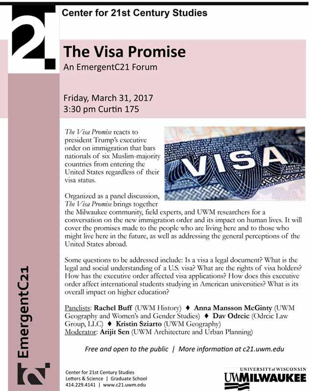 EmergentC21 Forum: The Visa Promise