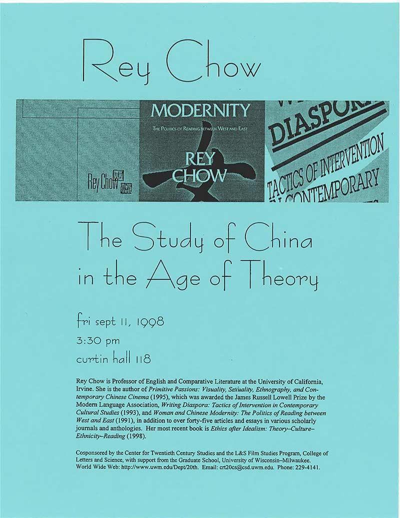 Rey Chow