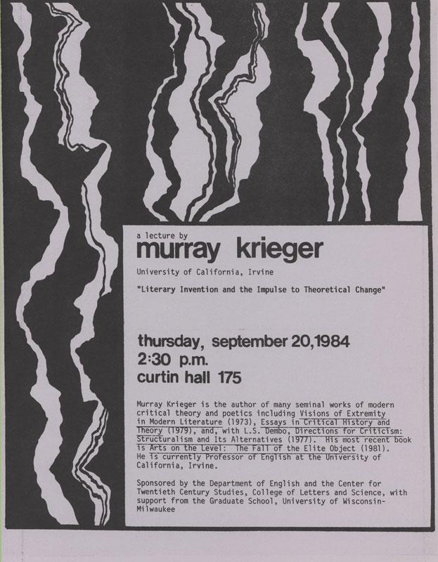 Murray Krieger