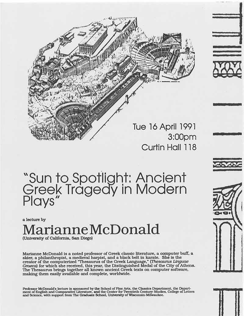 Marianne McDonald