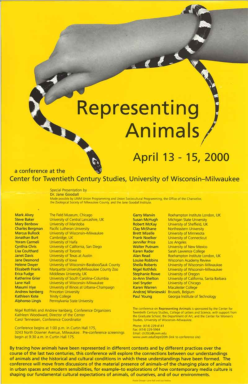Conference: Representing Animals