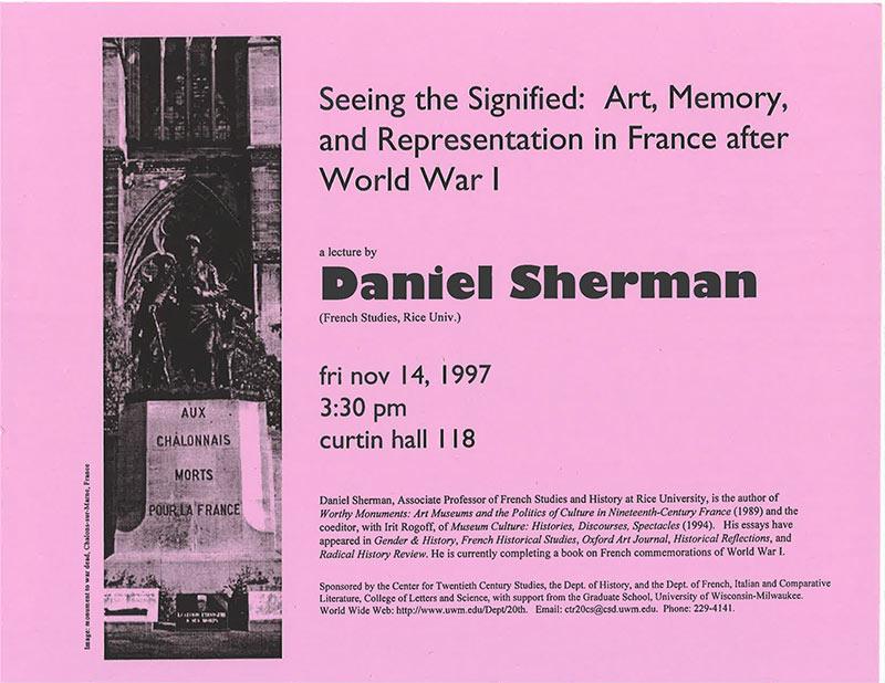 Daniel J. Sherman