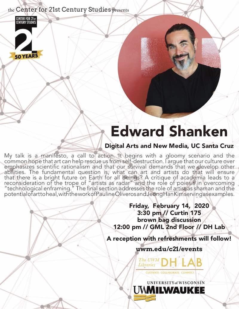 Edward Shanken Poster