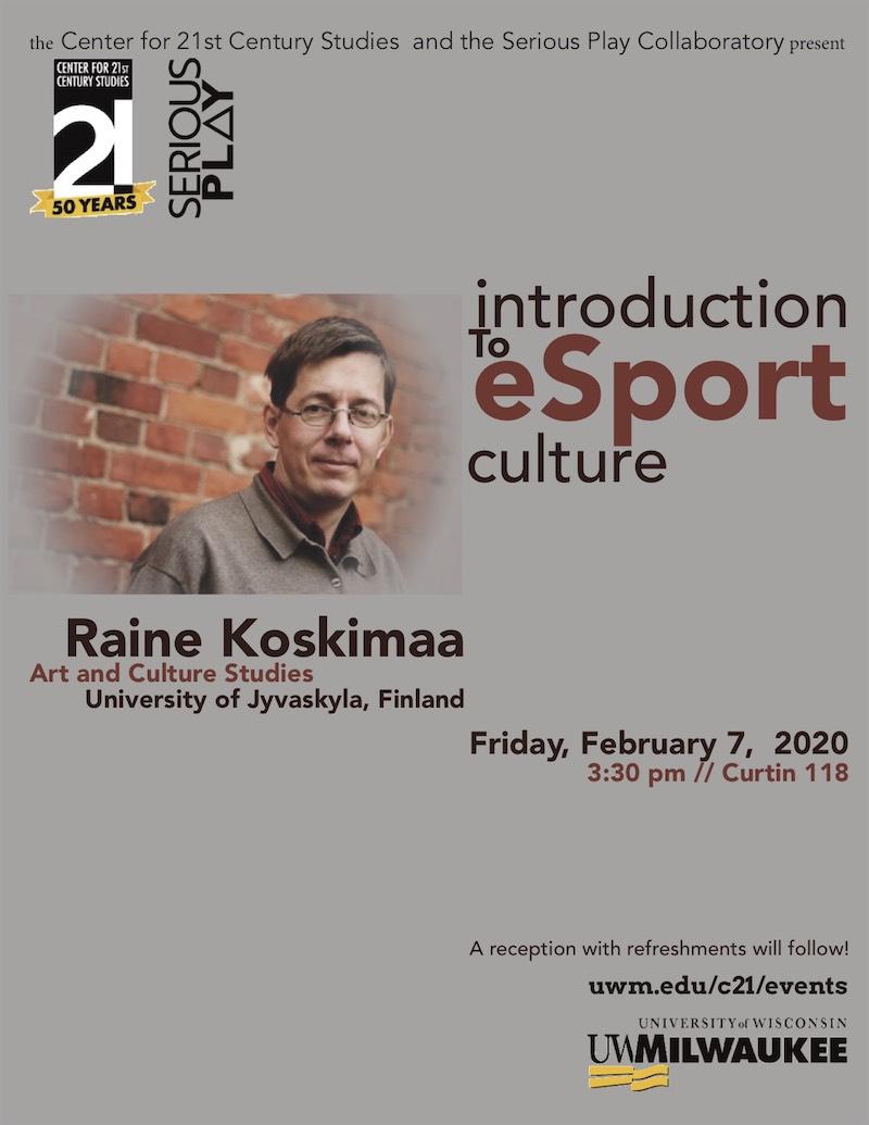 Raine Koskimaa Poster