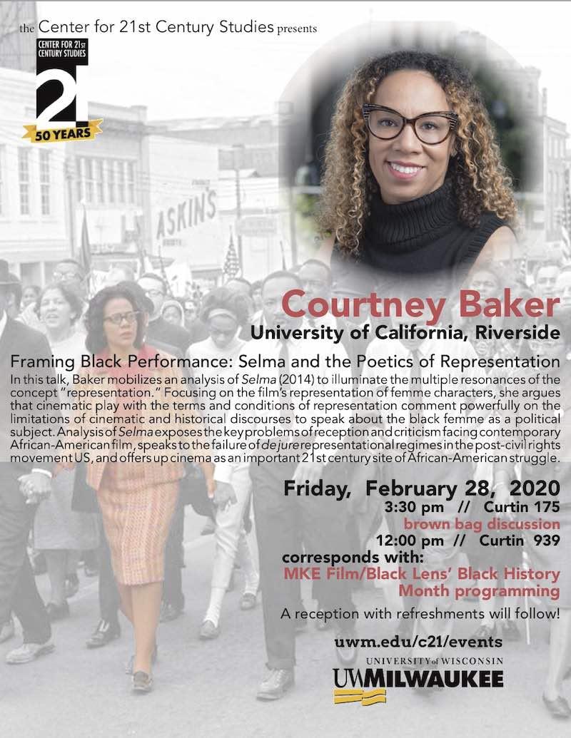 Courtney Baker Poster