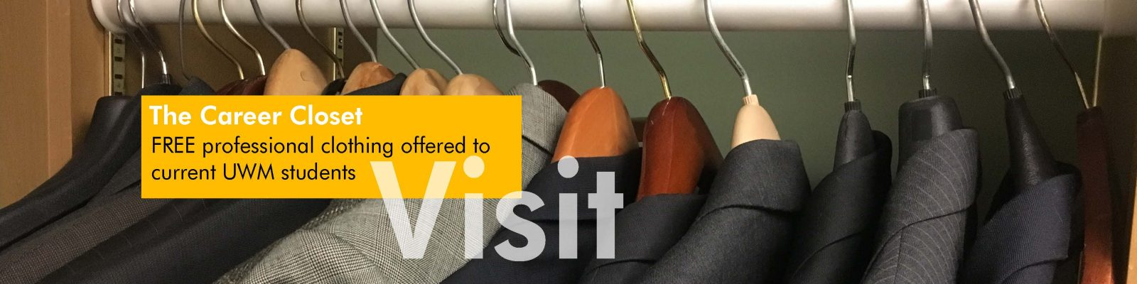 Visit The Career Closet: Free professional clothing offered to current UWM students