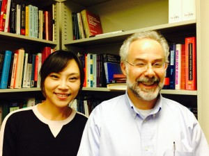 Dr. Jung Kwak and Dr. Mike Brondino