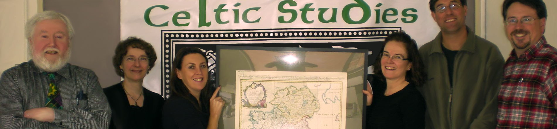 Celtic Map and Students