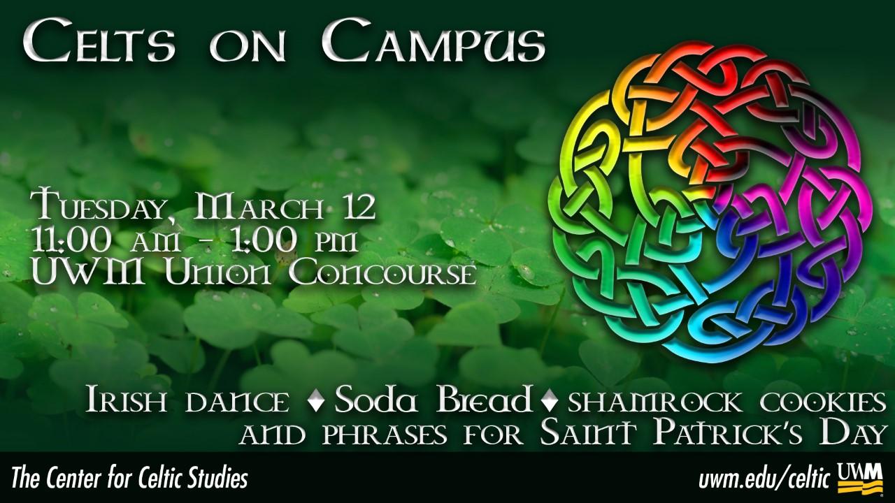 Celts on Campus 2019 | Center for Celtic Studies