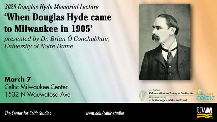2020 Douglas Hyde Memorial Lecture