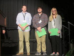 Undergraduate Student Poster Award Winners 2015