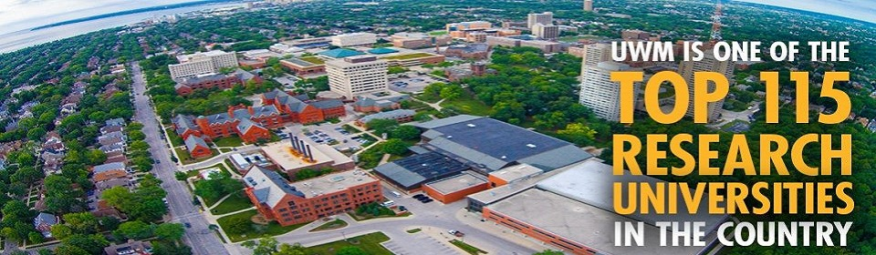 UWM is one of the top 115 research universities in the country