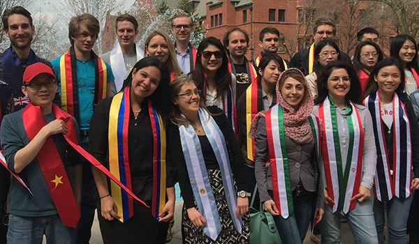 Happy UWM International Student Graduates Spring 2015