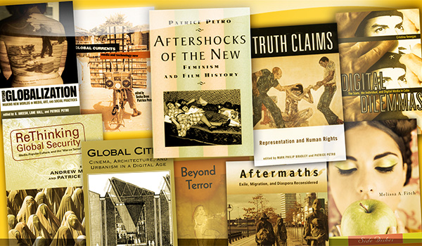 Collage of book covers from New Directions in International Studies series
