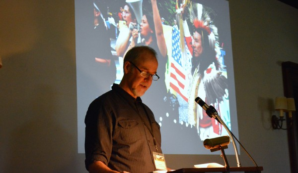 Lane Hall at 2015 CIE Conference photo