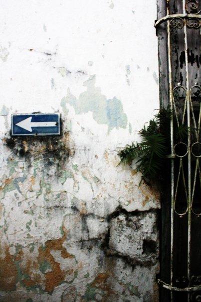 Wall in Cuba