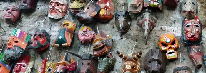 Masks in guatemala, Whaley