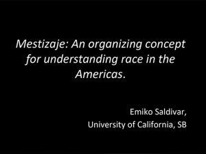 Understanding Race