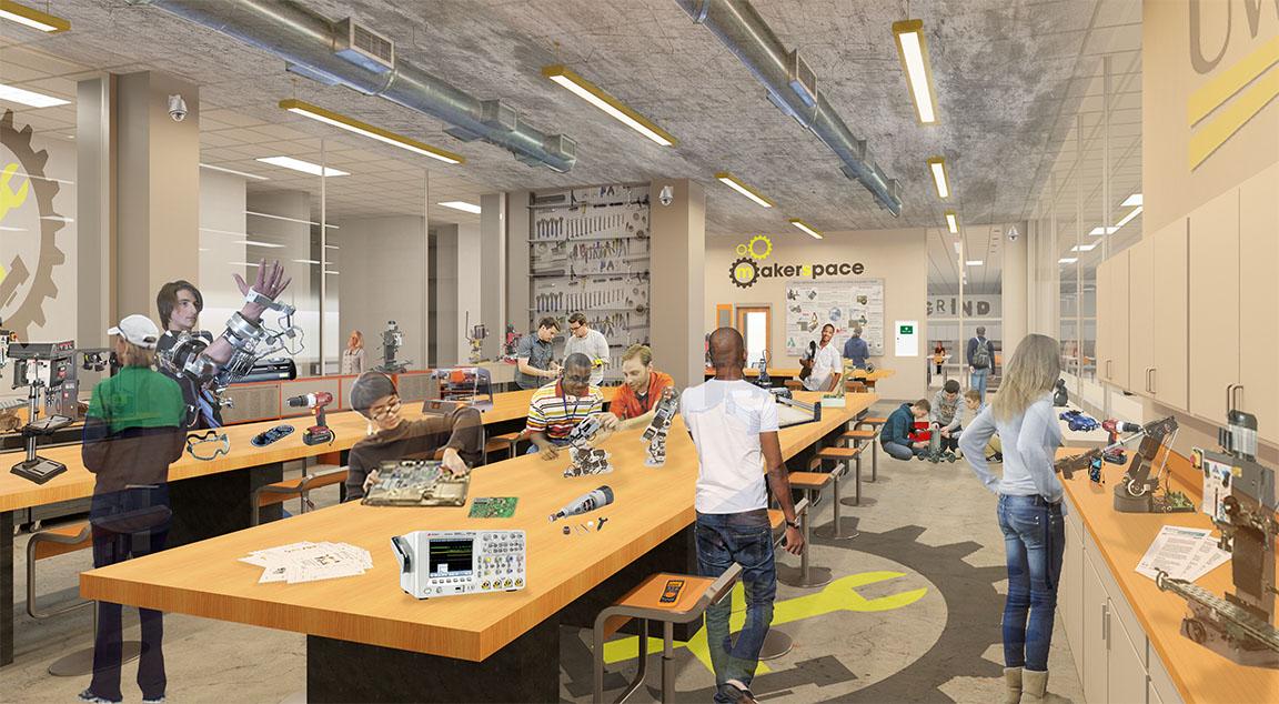 Classroom Design Layout Ideas ~ Uwm ems makerspace community design solutions