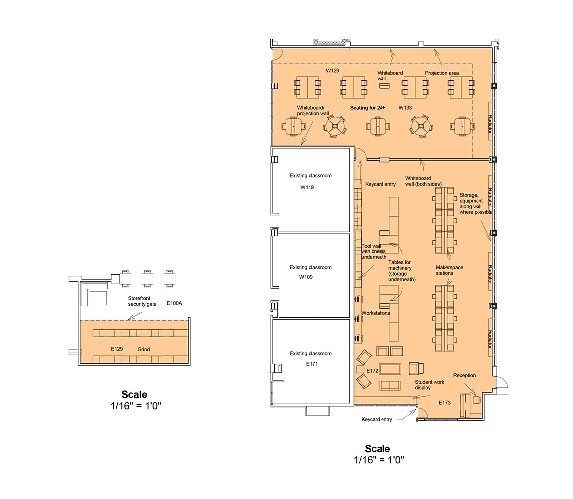 Classroom Furniture Layout ~ Uwm ems makerspace community design solutions