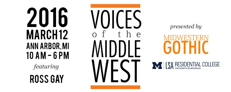 ccr at the Voices of the Middle West Book Festival