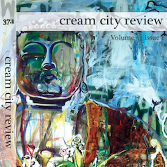 Photo of cover of Cream City Review Issue 37.1