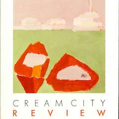 Photo of cover of Cream City Review Issue 13.2