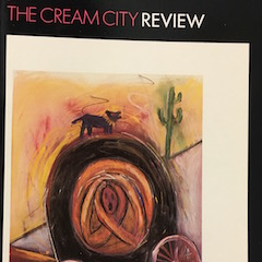 Photo of cover of Cream City Review Issue 14.1