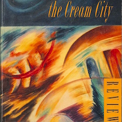 Photo of cover of Cream City Review Issue 16.1