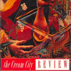 Photo of cover of Cream City Review Issue 16.2