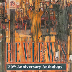 Photo of cover of Cream City Review 20th Anniversary Issue