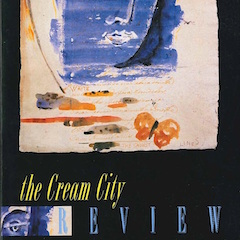Photo of cover of Cream City Review Issue 21.1