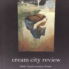 Photo of cover of Cream City Review 30.2