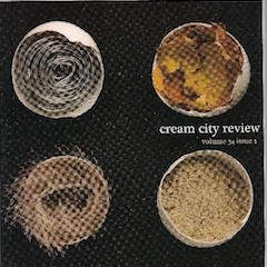 Photo of cover of Cream City Review Issue 34.1