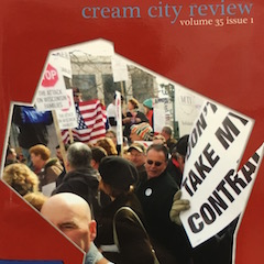 Photo of cover of Cream City Review Issue 35.1