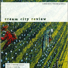 Photo of cover of Cream City Review Issue 36.2