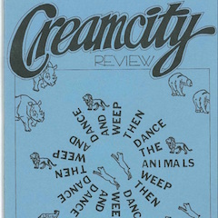 Photo of cover of Cream City Review Issue 3.2