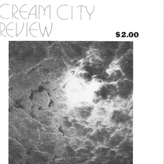 Photo of cover of Cream City Review Issue 4.2