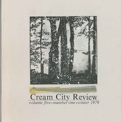 Photo of cover of Cream City Review Issue 5.1