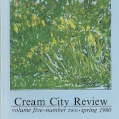 Photo of cover of Cream City Review Issue 5.2